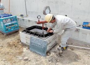 耐圧・気密試験により溶接接合部の漏洩確認